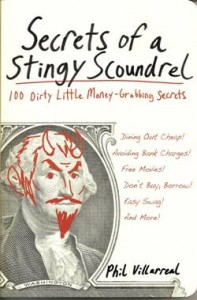 Secrets of a Stingy Scourdrel book cover wout Amazon logo